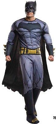 Adult Batman Costume Deluxe - Batman V. Superman:Dawn Of Justice (sh)