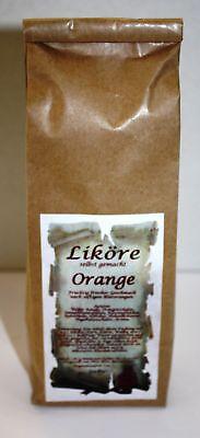 Orange Likör Ansatz 180 g fruchtig selber machen 1kg/27,22€ Tee-Meyer g1