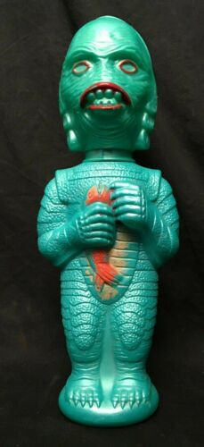 Creature From the Black Lagoon Soaky-Bubble Bath-Bottle-Universal 1960