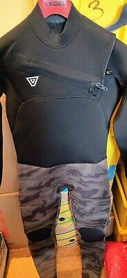 Vissla 7 Seas 50/50 4/3mm Chest Zip Fullsuit sz L Camo  NWOT
