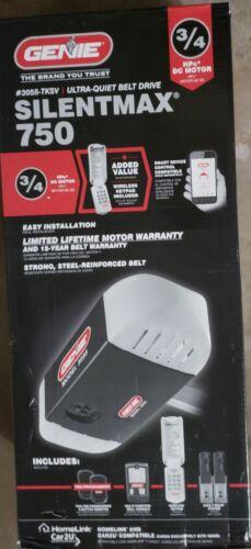 Genie SilentMax 750 3/4HP Ultra Quiet Belt Drive Garage Door Opener 3055-TKSV