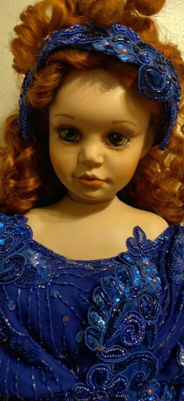 Vintage 1995 Brigitte Fail Joy Victorian Porcelain Doll LE #507/1500