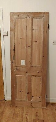 Old wooden solid pine door - 6 available