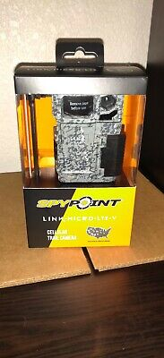 New 2020 Spypoint Link-Micro-LTE-V 10MP Verizon Low Glow IR Game Trail Camera