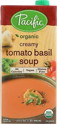 Tomato Basil Soup - Creamy (12 - 32 FZ) Creamy Tomato Basil Soup
