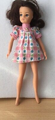 VINTAGE TEEN DOLL SIZE SINDY TRESSY BARBIE CLONE MINI DRESS