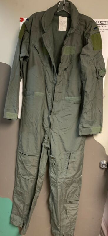 Flight Suit Sage Green Coverall SIZE 42L