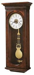 Howard Miller 620-433 Earnest Westminster Keywound Chiming Wall Clock