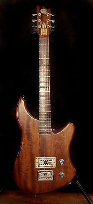 "ShonKy Novus Junior, Handmade 3/4 Shortscale 24"" compact electric guitar. Unique"