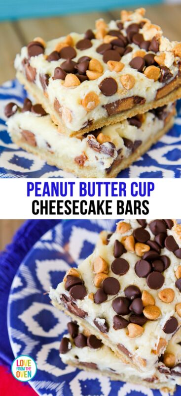 Peanut Butter Cup Cheesecake Bars | eBay