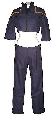 Uniform Mirror STAR TREK Enterprise NX-01 female S - original Replica - top (Original Star Trek Uniform)