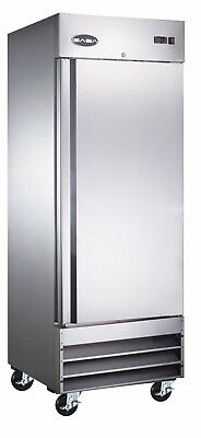 Saba Heavy Duty Commercial Reach-in Freezer One Door Stainless Steel