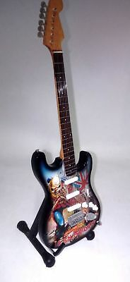 Fender Stratocaster Iron Maiden Chitarra in miniatura -Mini Guitar-Mini Guitarra