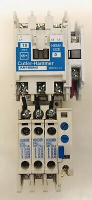 Cutler-hammer An16bno 18 Amp Starter With C306dn3 And H20058b Heater