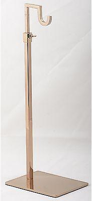 Counter Top Handbag Display Stand Rose Gold-csr-gd1
