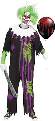 Adult Demented Clown Circus Costume  - Demented Clown Costume