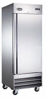 Saba Commercial Upright Freezer Stainless Steel Freezer Storage 1 Solid Door
