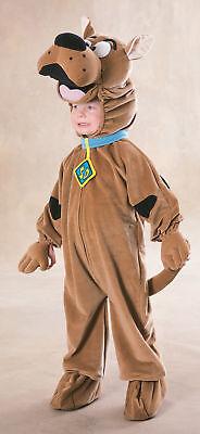 Scooby-Doo Kinder Kostüm Groß 12-14 Velour Overall Kopfbedeckung Rubies