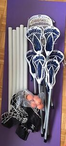 7-Player Lacrosse Set with Net