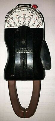 Vintage Weston Clamp On Amp Volt Meter Model 749 Type Va-1 Ac Volt Ammeter