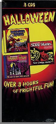 Scary Music Halloween (Scary Halloween Music and More - 3 New CD's of Halloween Stories and Fun)