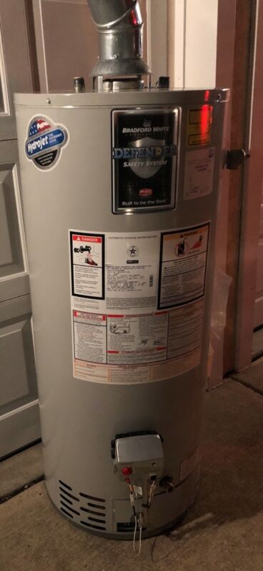 Bradford White Corporation Automatic Storage Water Heater Model No. MI403S6FBN