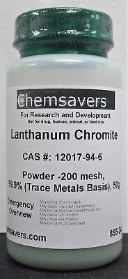 Lanthanum Chromite Powder -200 Mesh 99.9 Trace Metals Basis 50g
