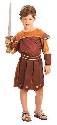 RÖMISCHER SOLDAT, GRIECHISCHER KRIEGER, JUNGEN KOSTÜM, KINDER - Kind Griechischer Soldat Kostüm