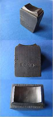 Alte handgravierte Pfaffe Stahl zur Ring-oder Schmuckherstellung