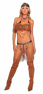 Roma Costume 4205 Cherokee Warrior Costume Native American Halloween Costumes - Cherokee Costume