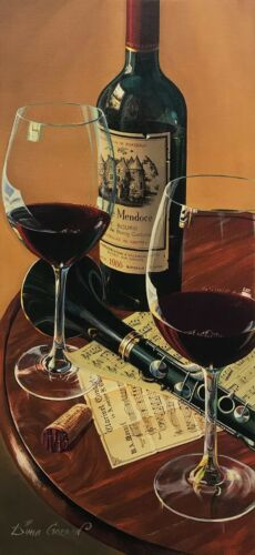 """Dima Gorban """"chateau De Mendoce"""" Wine 