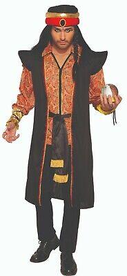 Fortune Teller Turban & Robe - Jafar Adult Costume - Aladdin
