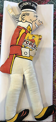 Sunny Jim Advertising Doll, Vintage, Wheat Flakes,