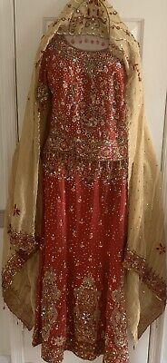 Indian Ethnic Bridal Lehenga Choli Pakistani Wedding Party Wear Designer -