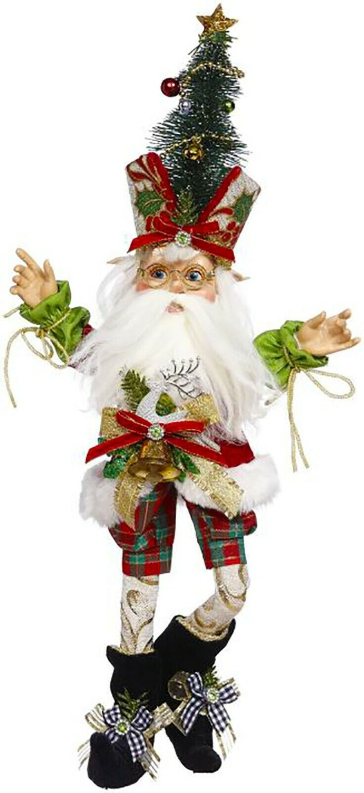 "[Mark Roberts Elves - North Pole Holly Elf 51-05612 Small 17"" Figurine </Title]"