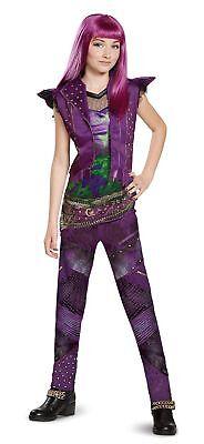 Disney Mal Classic Descendants 2 Costume Purple X Large  14 16  X Large  14 16