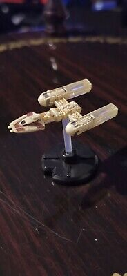 Star Wars Miniatures Y-Wing Starfighter 29/60 With Card - Starship Battles