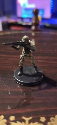 Star Wars Miniatures Rebel Marksman 20/60 + Card The Force Unleashed Free P&P