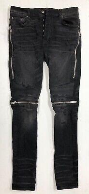 AMIRI MX2 black wash jeans size 33