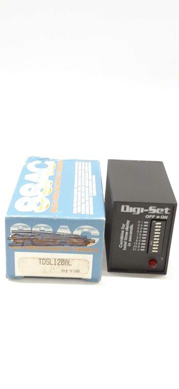 SSAC TDSL120AL Digi-Set Time Delay Relay