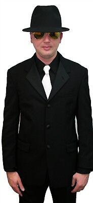 Black Halloween Costume Discount Blazer Polititian James Bond Tux Jacket Zombie