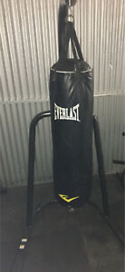 Everlast punching bag and stand