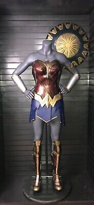 Superman Womens Costume (Wonder Woman costume display prop Batman v Superman, justice leagues)