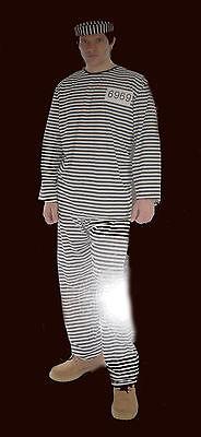 Herren Überführen / Gefangene Verkleidung Outfit Kostüm Satz - Gefangene Outfits