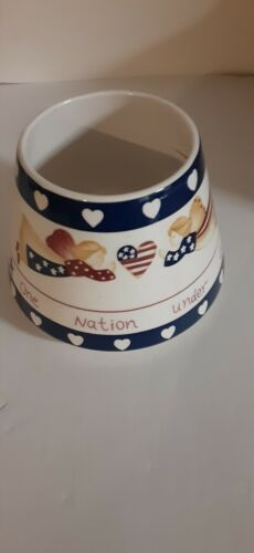 Home Interior Lamp Shade One Nation Under God