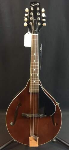 Kentucky KM-156 Standard A-Style Mandolin Transparent Brown w/ Travel Case