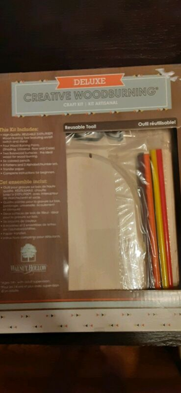 Deluxe Creative Woodturning Kit BY WALNUT HOLLOW NIB