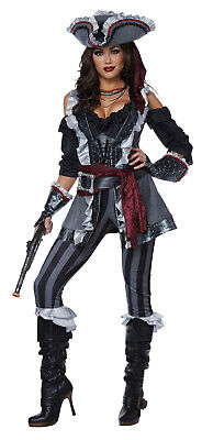 Pirate Captain Blackheart Adult Women Costume (Pirate Costums)