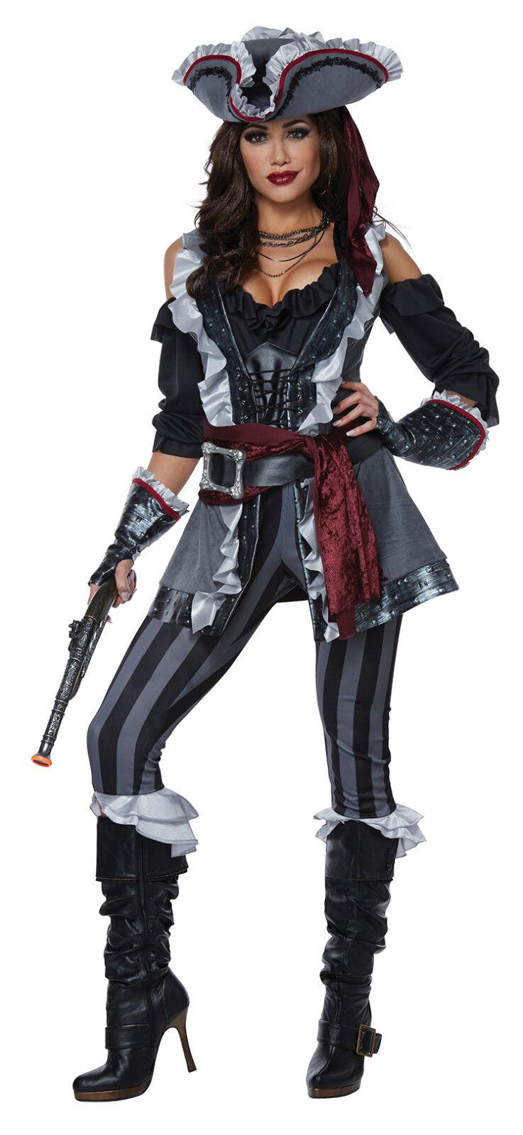 Captain Black Heart Pirate Halloween Costume
