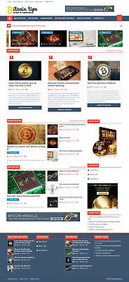 Established Btc Cryptocurrency Turnkey Wordpress Website Business For Salebonus